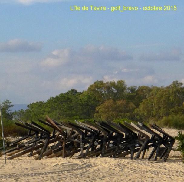 Algarve : l'île de Tavira