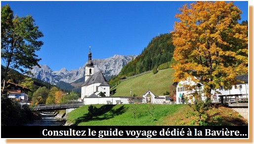 Guide voyage Baviere