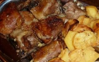 viande sous la cloche en Croatie