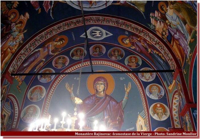 Monastère Rajinovac Vierge