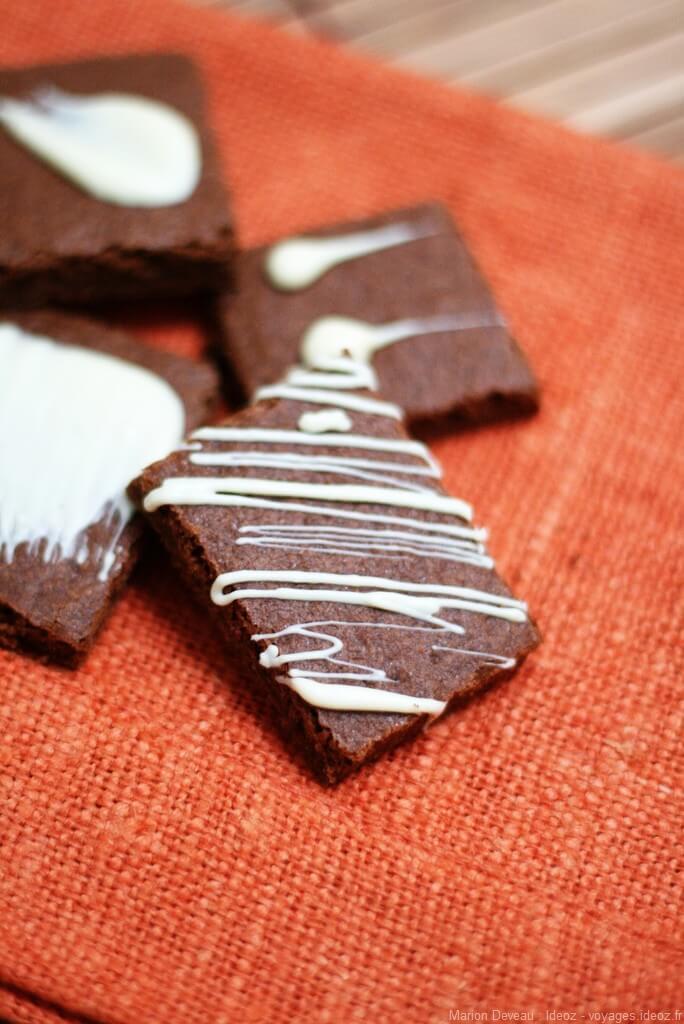 Plätzchen chocolat moka petits gateaux de noel allemands