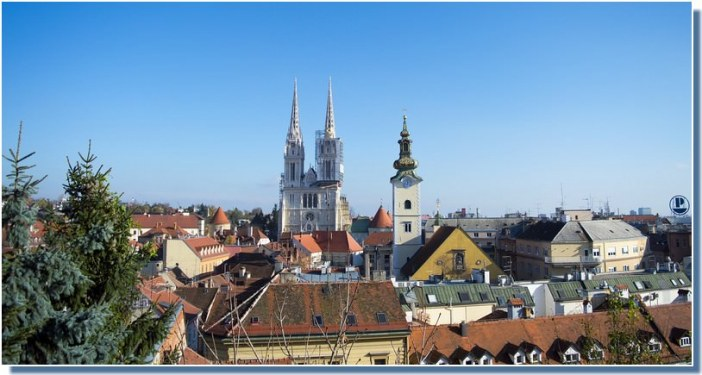 Zagreb kaptol cathédrale saint Stephane