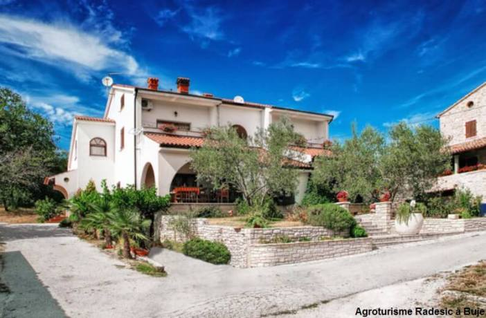 Agritourisme Radesic à Buje en Istrie du nord
