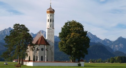 Eglise St Coloman haute Bavière
