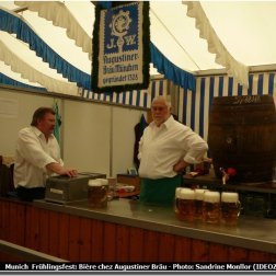 Munich Fruhlingsfest bière Augustiner Brau