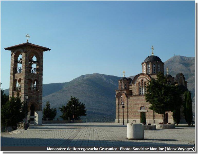 Trebinje Monastère Hercegovacka Gracanica