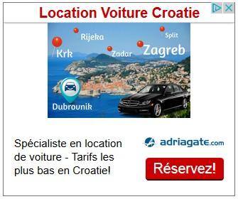 adriagate location voiture en croatie
