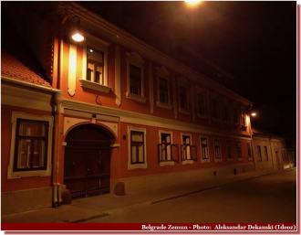 Belgrade Zemun de nuit