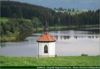 Halblech Chapelle Hegratsried See