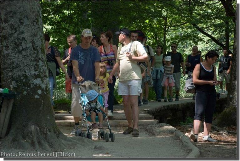 Balade à Plitvice avec des enfants