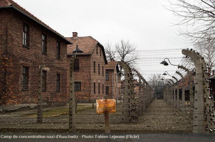 Auschwitz camp de concentration nazi