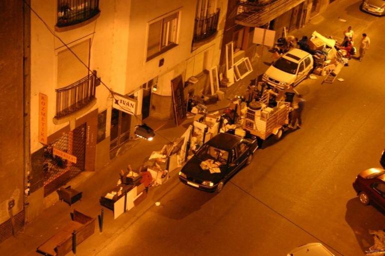 Budapest ciganyok récupération des tziganes hongrois la nuit