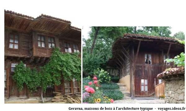 Geravna maisons typiques en bois