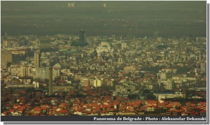 Panorama de Belgrade