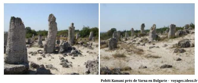 Pobiti Kamani près de Varna Bulgarie
