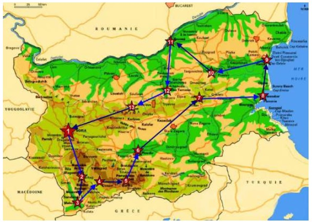 autotour en Bulgarie circuit touristique en itinérant