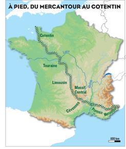 1000 km sur les chemins noirs de Sylvain Tesson