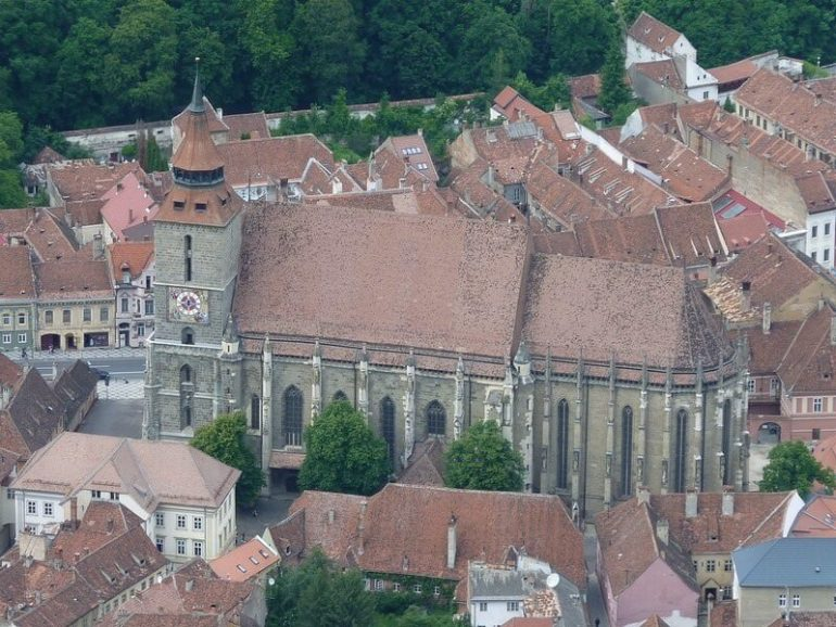 Brasov église noire