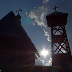 Drvengrad Eglise saint Sava Mokra Gora
