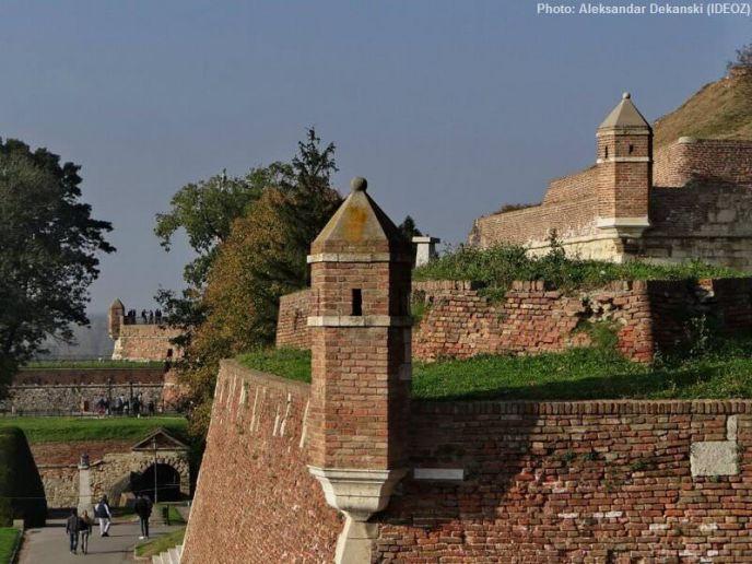 Forteresse médiévale de Kalemegdan à Belgrade