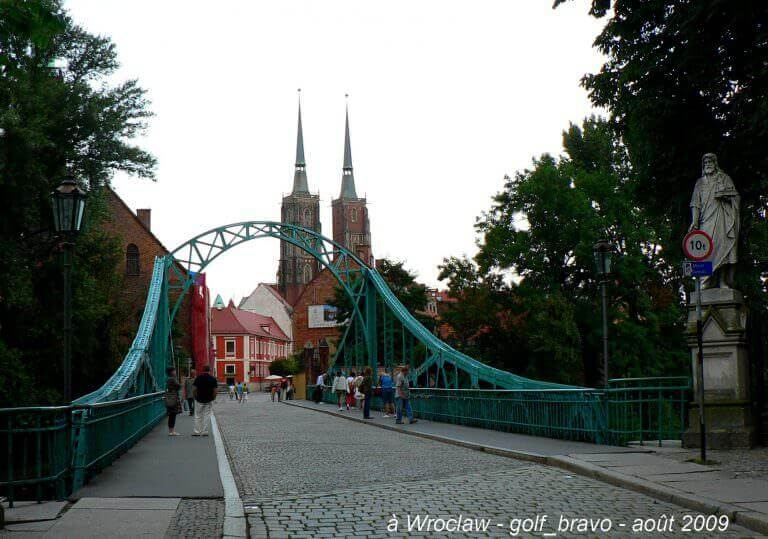 pologne wroclaw petit pont