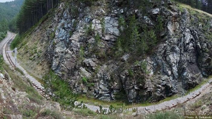 Sargan 8 ligne de chemin de-fer-en-serbie-depuis-Mokra gora jusquà Visegrad
