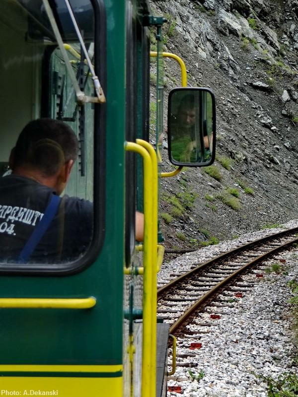 Locomotive du train Sargan 8