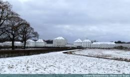 Chateau Nymphenburg sous la neige