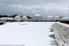 Munich Chateau Nymphenburg en hiver