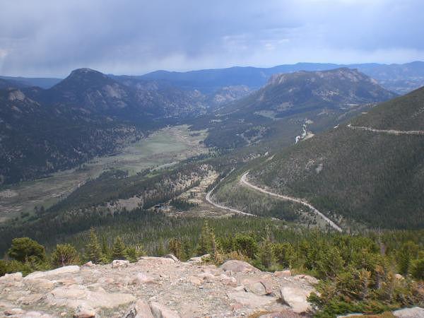 Rocky Mountain national park montagne et paysage