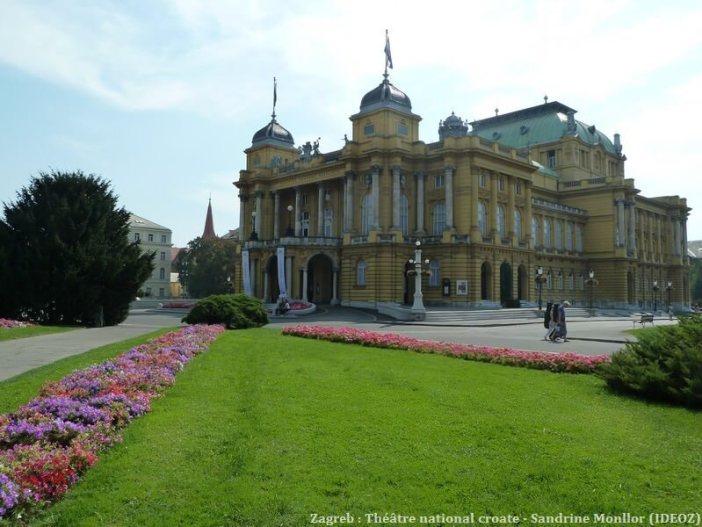Theatre national croate de Zagreb