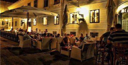 Café à Zagreb