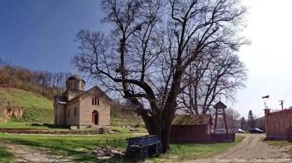 Monastère serbe orthodoxe Sremus Trgoviste