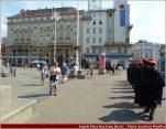 Zagreb place Ban Josip Jelacic gardes du régiment de la cravate