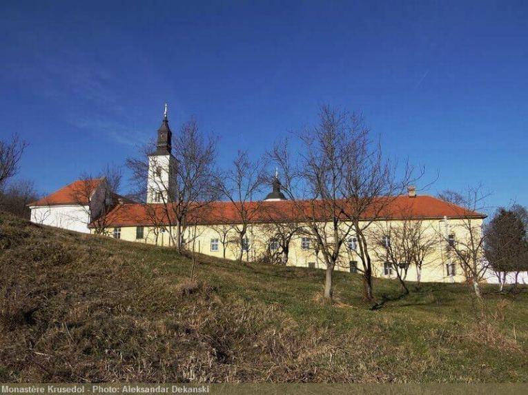 Monastère Krusedol en Serbie