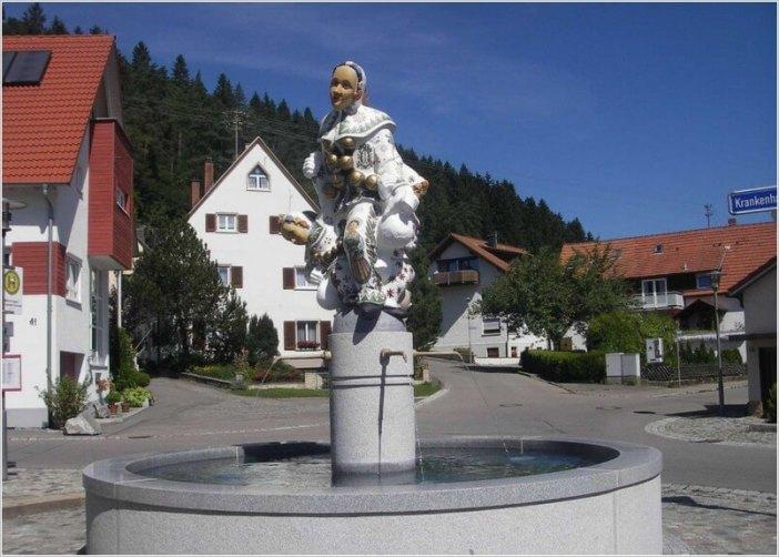 Fontaine en Baviere