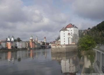 Passau sur le Danube en Bavière