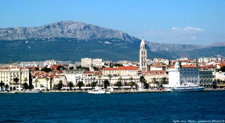 Split promenade riva