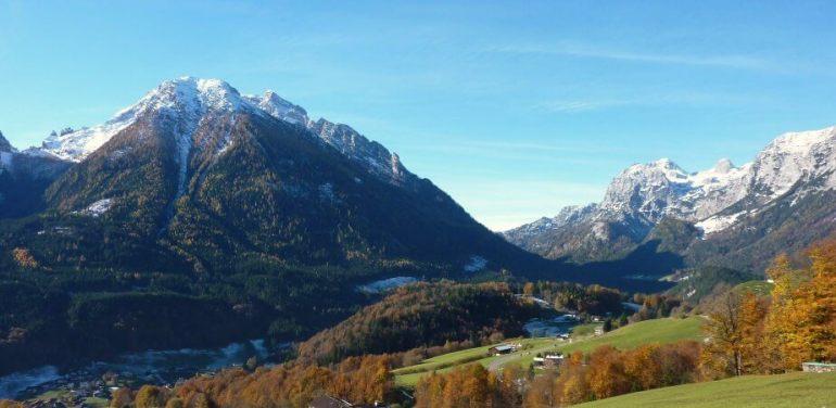 Alpes bavaroises dans la région de Berchtesgaden