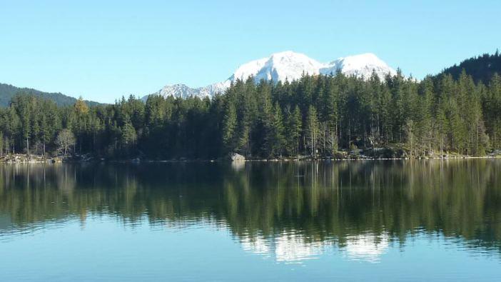 Lac Hintersee dans la région de Berchtesgaden
