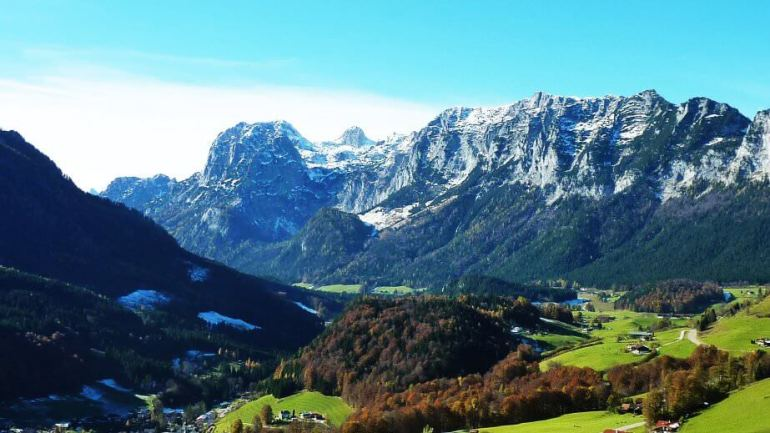 Montagnes environnant Berchtesgaden