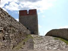 A l'intérieur des fortifications de Medvedgrad