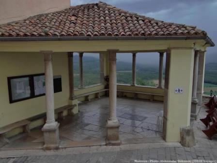 Motovun village d'Istrie