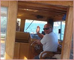 Tvrtko excursion en petit bateau dans les iles kornati