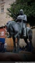 Zagreb statue équestre