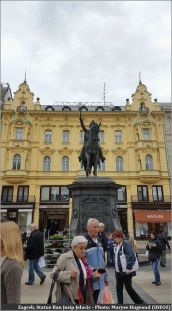 Zagreb statue ban josip jelacic