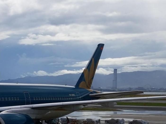 avion retour du Japon