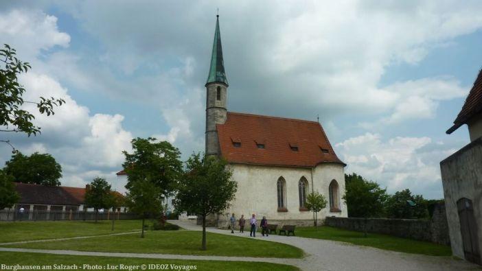 Burghausen am Salzach église