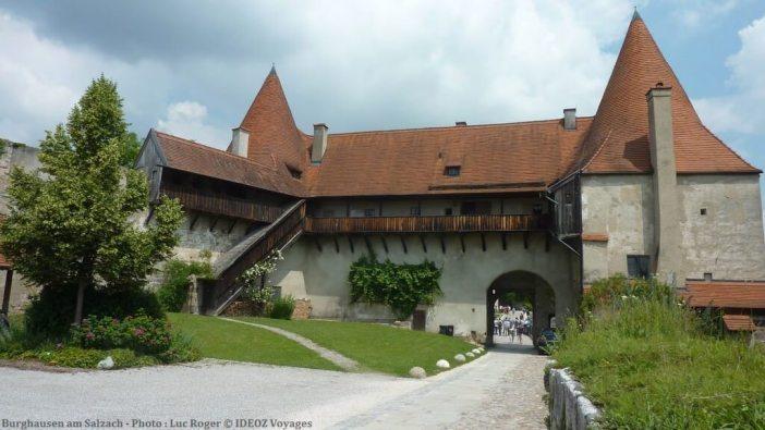 Burghausen am Salzach entrée de la forteresse