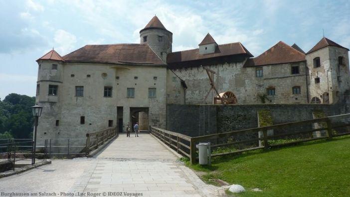 Burghausen am Salzach forteresse